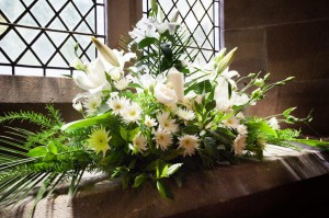 Wedding Flowers at  St Bartholomew's